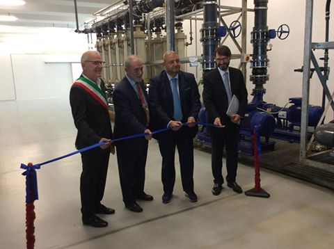 Ribbon cutting event of REGENERA plant