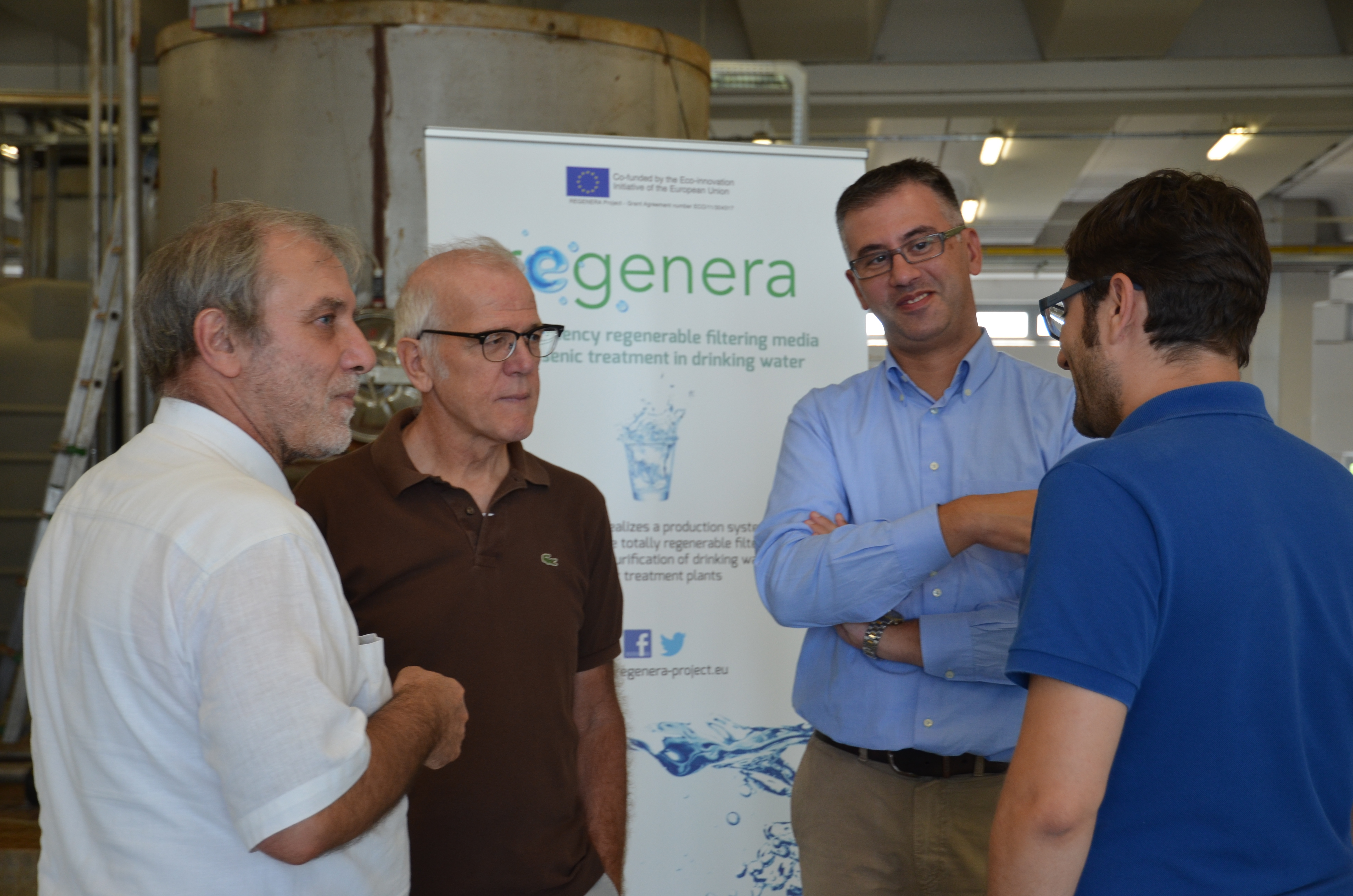 Open Day at REGENERA Plant